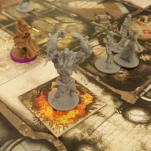 The Crafty Players Zombicide Black Plague Abomination
