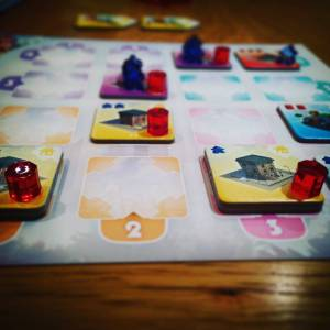 The Crafty Players Quadropolis City Board