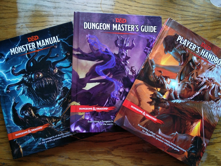 5th Edition Core Books