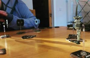 The Crafty Players X Wing B Wing Attack