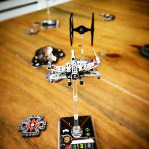 The Crafty Players X Wing TIE Fighter