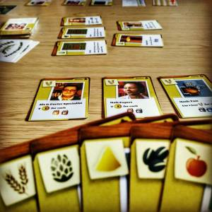 The Crafty Players Brew Crafters Card Game Play